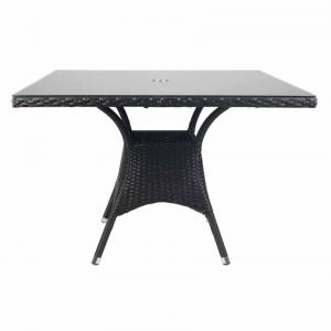 Ventura Outdoor Table With Glass Top