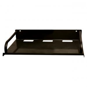 Supetech Black Steel Set Top Box Stand, Dth Stand And Set Top Box Wall Bracket