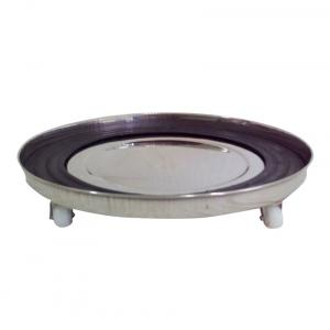 Sgb Stainless Steel Glas Cylinder Trolly