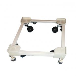 Shopzzalltime Adjustable Universal Stand/trolly For Top Loading Washing Machines With Jack & Wheels