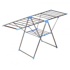 Ss Silver Stainless Steel Cloth Drying Stand