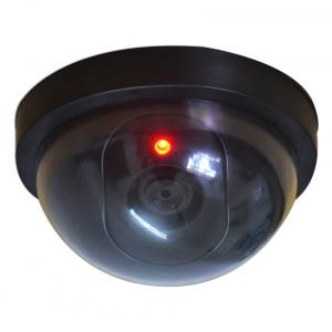 Zephyr Working Dummy Fake Dome Security Camera With Blinking Led Realistic Looking Cctv