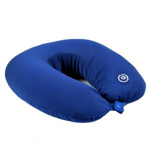Enfin Homes Misty Blue Polyester Travelling Neck Massager Pillow