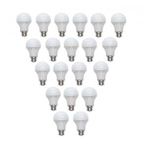 Ave 7w White Led Bulb - Pack Of 20 Piece
