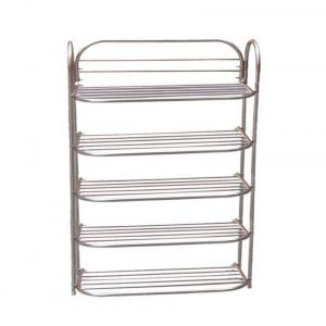 Pal Universal By Palsons Foldable Stainless Steel 5 Shelf Stainless Steel Shoe Rack