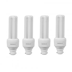 Havells White - CFL-BULB-15W-B22(Pack of 4)