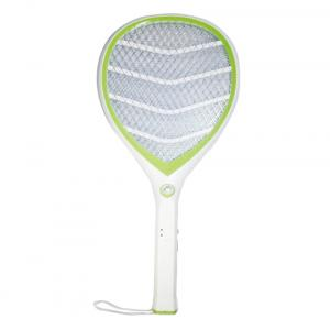 Tuscan Rechargeable Electric Mosquito Killer Racket - White