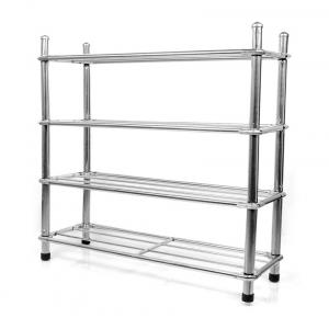 E Traders Stainless Steel Shoe Rack