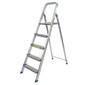 Dolphin Aluminium Top Stand Self Suporting Ladder- 4 Steps