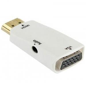 Aeoss HDMI to VGA Converter With 3.5mm Audio for