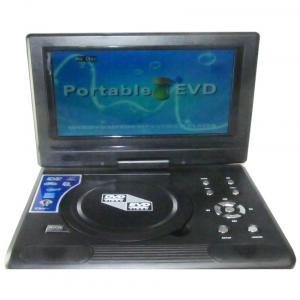 Prosmart Concepts 9.8 Led Portable Dvd Player Gaming Console With Tv Tuner/card Reader