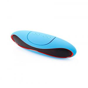Arham Rugby Bluetooth Speaker With Mic - Blue