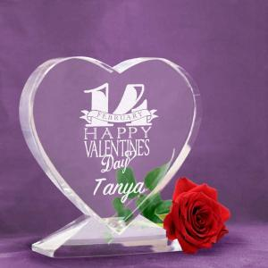 Valentine Special - Heart Shaped Crystal