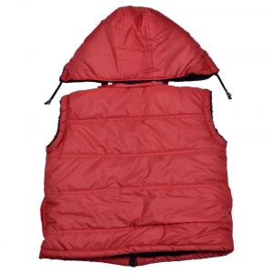 New Fashion Red Acrylic Casual Jacket With Hood
