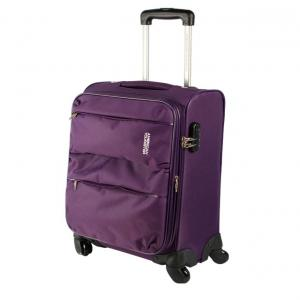 American Tourister Velocity Spinner 90X050103 Purple 4 Wheel Trolley