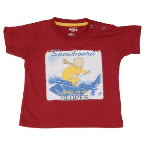 Baby League Red Crew Neck T Shirts