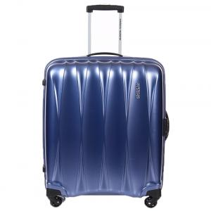 American Tourister Arona+ Blue 4 Wheel Trolley 68 Cm