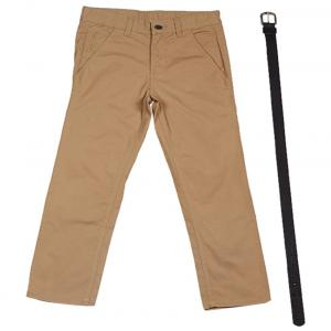 Ucb Brass Solid Trousers For Kids