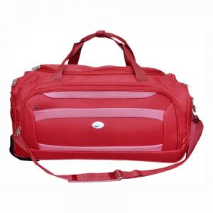 American Tourister Red Chicago Wheel Duffle Trolley