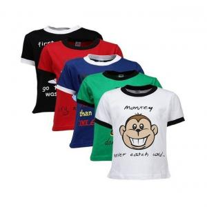 Goodway Did U Know Themed Pack  of 5 T-Shirts For Boys