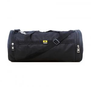Just Bags Black Polyester Duffle Bag