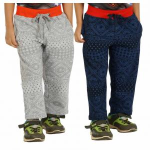 Shaun Multi Colors Pack Of 2 Track Pants For Kids