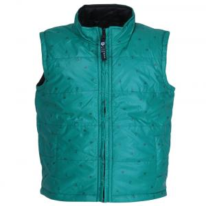 612 League Green Printed Polyester Jacket