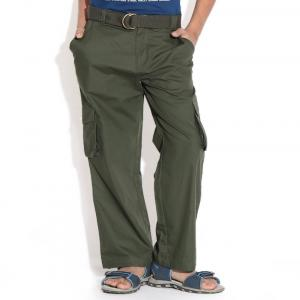 ShopperTree Military Green Cargo Pant For Kids