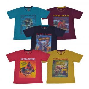 Provalley Cotton T Shirt Pack Of 5