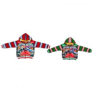 Shaun Multicolour Graphic And Patch Work Sweatshirt