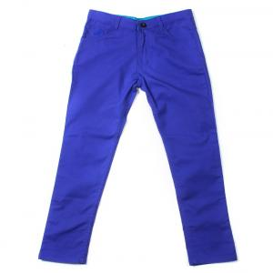 Silver Streak Royal Blue Chinos For Kids