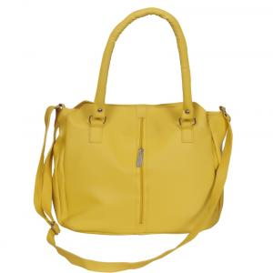 Naaz Bagcollection Yellow Non Leather Sling Bag