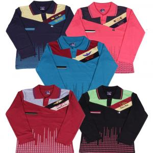 Provalley Multicolour Full Sleeves T-shirt Pack Of 5