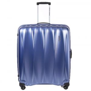 American Tourister Arona+ Blue 4 Wheel Trolley 79 Cm