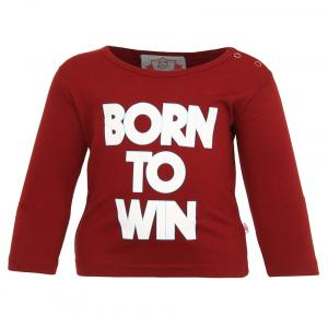 Baby League Maroon Round Neck T Shirt