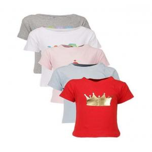 Goodway Character Themed Pack of 5 T-Shirts For Infants