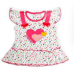 Little Life Baby Frock 100% Cotton (pink) (dn-169) (size: 18)