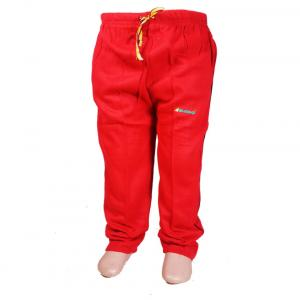 Bluedge Red Winter Cotton Track Pants