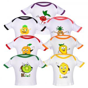 Goodway White Cotton T-shirt - Pack Of 7
