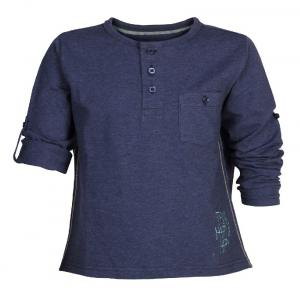 Ello Full Sleeve Blue Color Round Neck T-Shirts For Kids