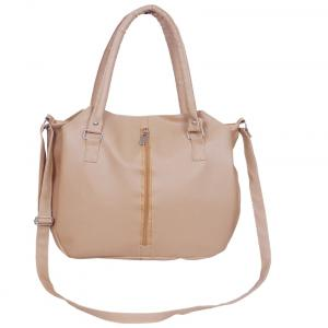 Naaz Bagcollection Beige Non Leather Sling Bag