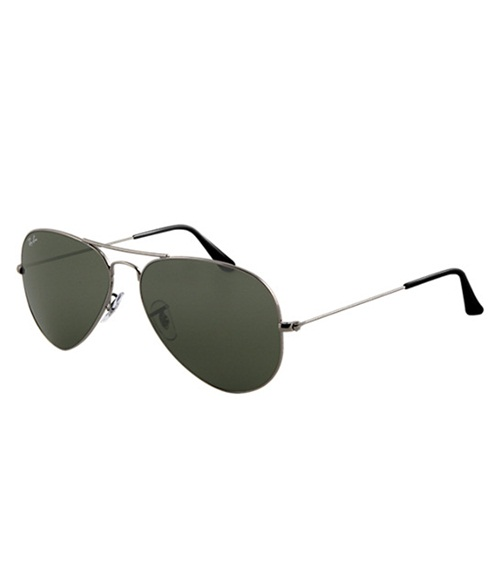 Ray-Ban Rb3025-004 58-14-135 Forever Green Aviator Polarized