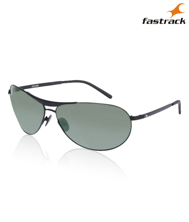Fastrack Green Army Sunglasses