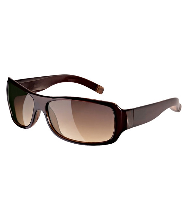 Fastrack P089BR2 Gradient Brown Sunglasses