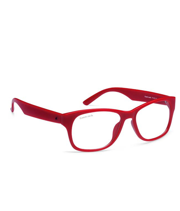 Fastrack Pc001Wh9 Red Tees Wayfarer Unisex Sunglasses