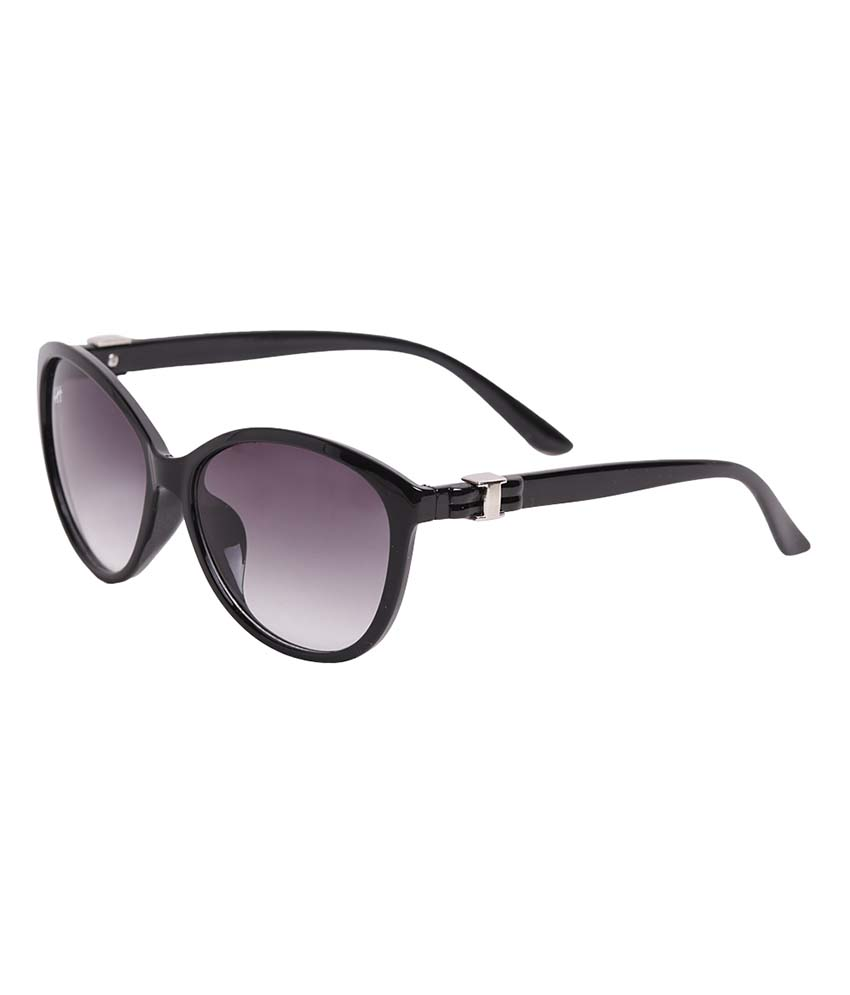 Hh Cateayblk Black Cat Eye Sunglasses For Women