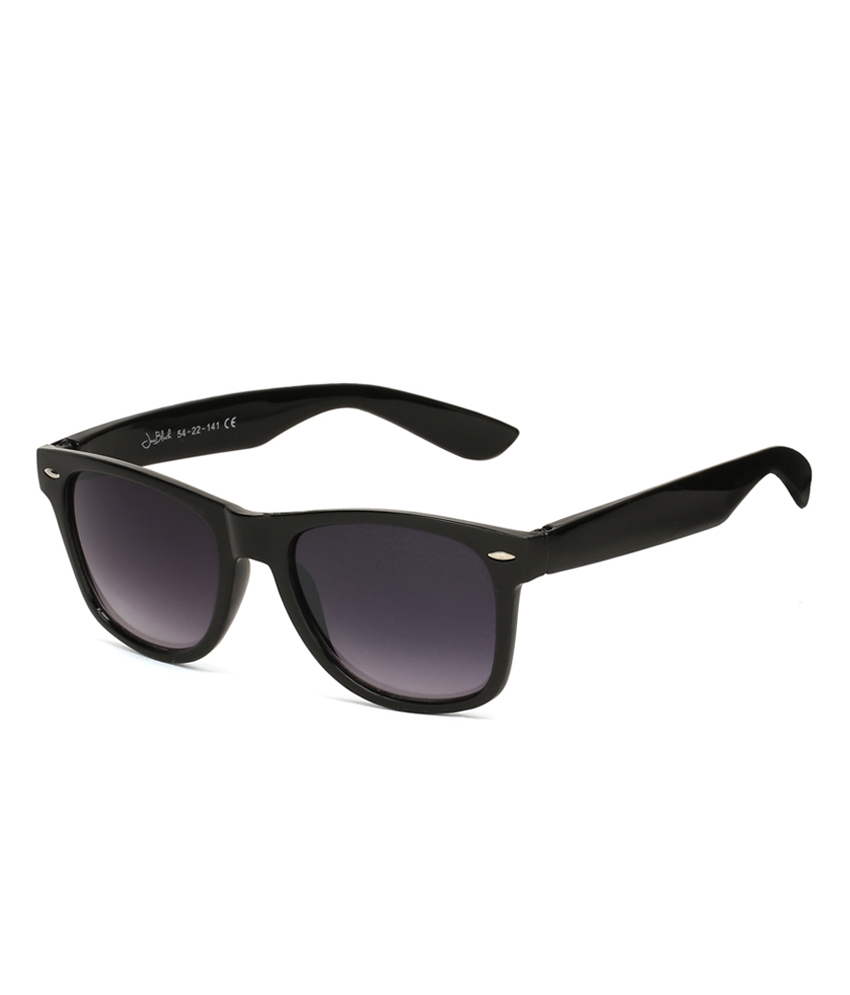 Neolithic Black Non Metal Round Uv Protection Sunglass - Sk-blkwfr