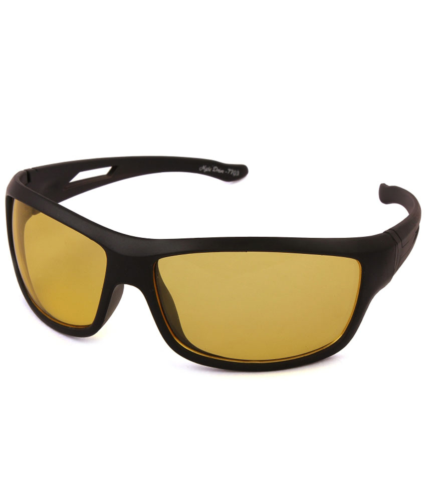 Tim Hawk Yellow Day & Night Vision Sunglasses For Men & Women