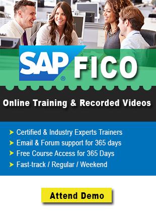 SAP FICO adv