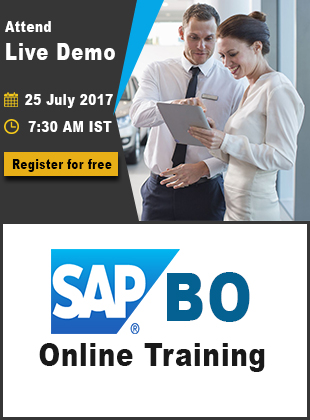 sap bo demo adv